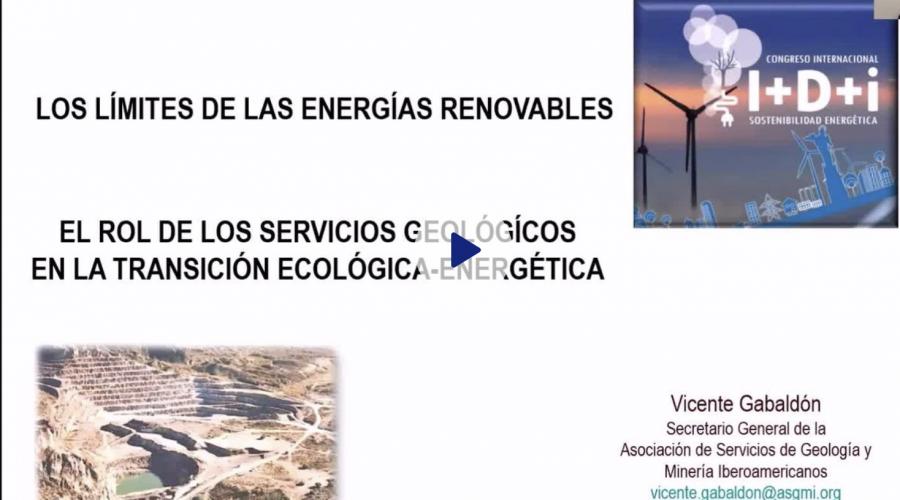 Charla: El rol de los Servicios Geológicos en la Transición Ecológica-Energética