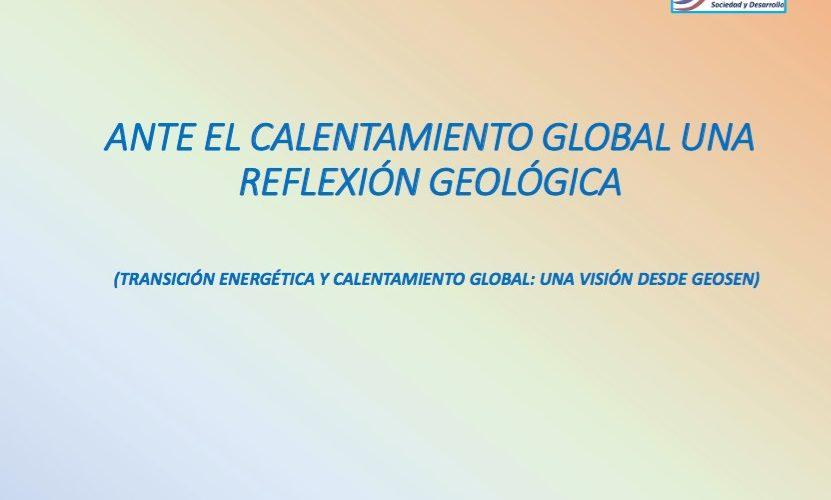 Ponencia de Geosen en el X Congreso Geológico de España 2021 en Vitoria